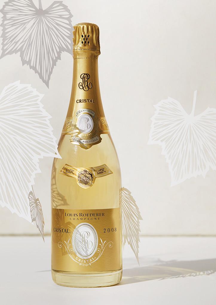Bouteille de champagne Louis Roederer