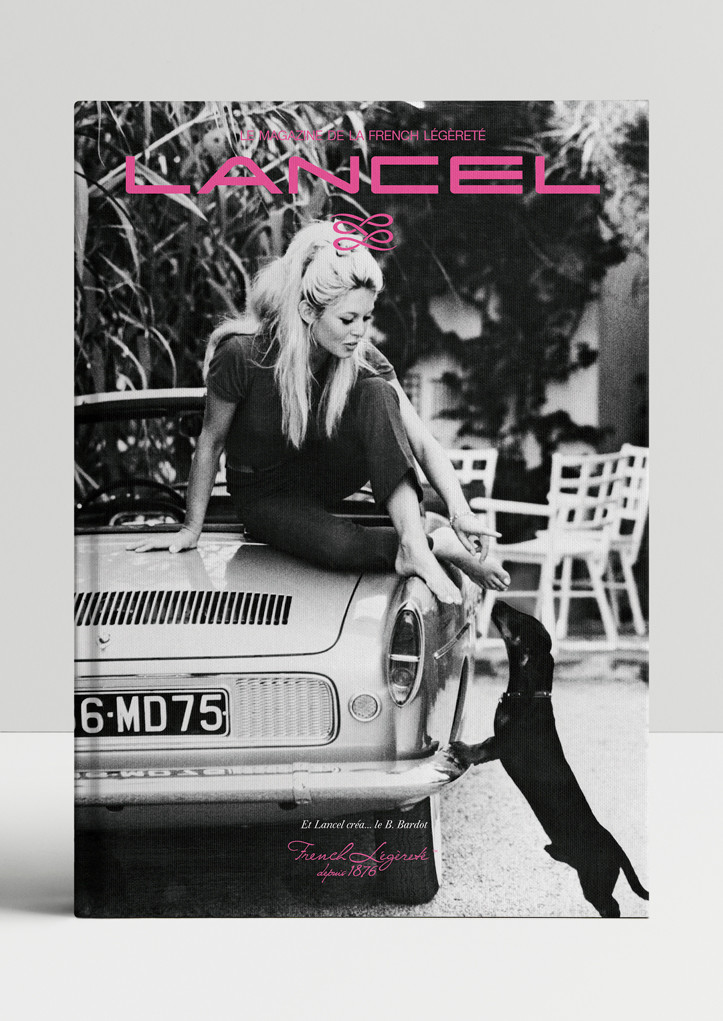 couverture magazine french legerete lancel