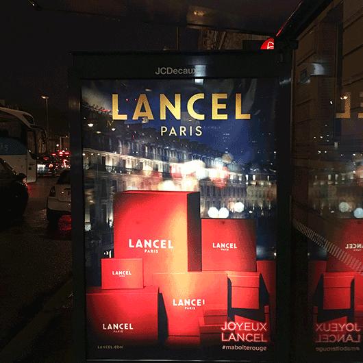 boîtes rouges Lancel