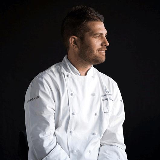 portrait chef cuisinier