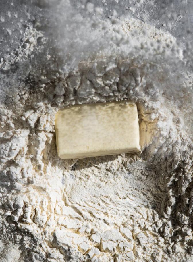 beurre dans la farine
