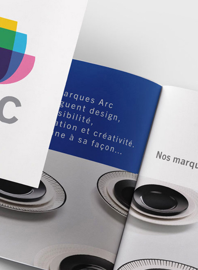 arc brochure art de la table