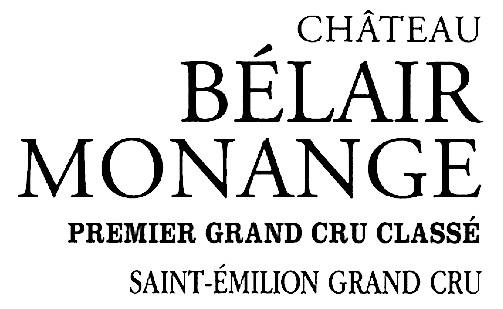 Logo Château Bélair Monange transparent